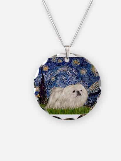 Starry / Pekingese(w) Necklace