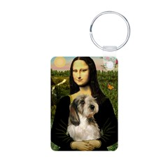 Mona Lisa / PBGV Keychains