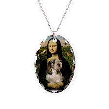 Mona Lisa / PBGV Necklace