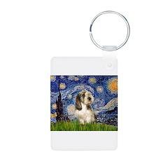 Starry Night / PBGV Keychains