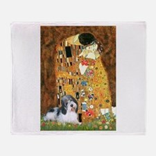 The Kiss/PBGV Throw Blanket