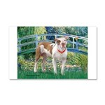 Bridge / Pitbull Car Magnet 20 x 12