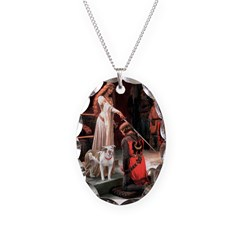 The Accolade / Pitbull Necklace