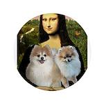 Mona/2 Pomeranians 3.5