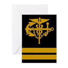 USPHS Lieutenant<BR> Six Greeting Cards