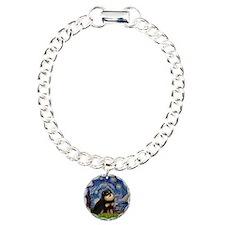 Starry Night / Pomeranian(b&t) Bracelet