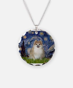 Starry / Pomeranian Necklace