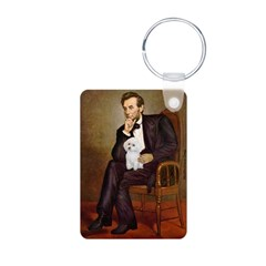 Lincoln/Poodle (W-Min) Keychains