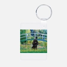 Bridge / Poodle (Black) Keychains