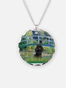 Bridge / Poodle (Black) Necklace