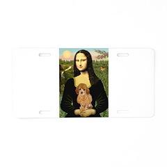Mona / Poodle (a) Aluminum License Plate