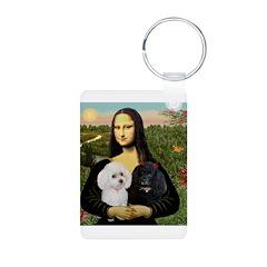 Mona & 2 Poodles Keychains