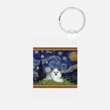 Starry Night / Poodle(w) Keychains