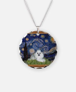 Starry Night / Poodle(w) Necklace
