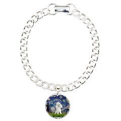 Starry / Poodle (White) Bracelet