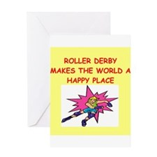 roller derby Greeting Card