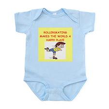 roller skating Infant Bodysuit
