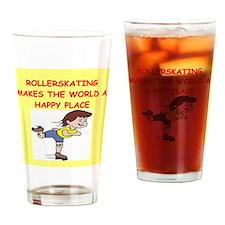 roller skating Drinking Glass