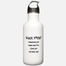 Black friday last one funny Water Bottle