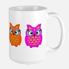 Colorful Owls Mug