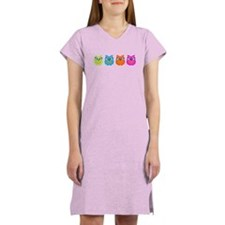 Colorful Owls Women's Nightshirt