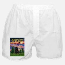 Blessed to be Free Cocker Boxer Shorts