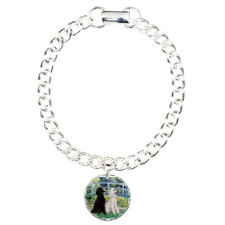 Bridge / Std Poodle (pr) Charm Bracelet, One Charm