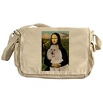 Mona / Std Poodle(w) Messenger Bag