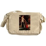 Accolade / Std Poodle(b) Messenger Bag