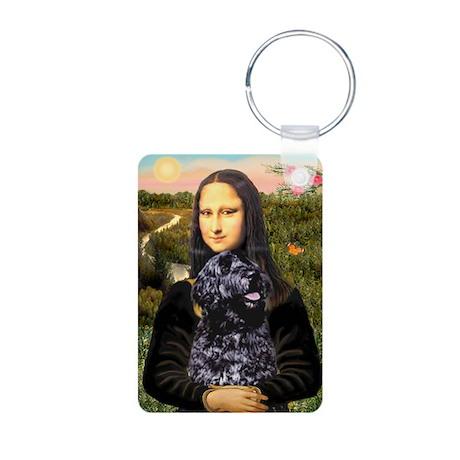 Mona Lisa's PWD (5) Aluminum Photo Keychain
