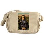 Mona Lisa's PWD (5) Messenger Bag