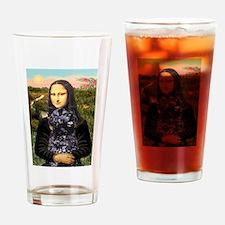 Mona Lisa's PWD (5) Drinking Glass