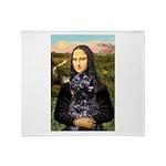 Mona Lisa's PWD (5) Throw Blanket