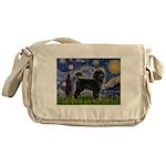 Starry Night / PWD (#2) Messenger Bag