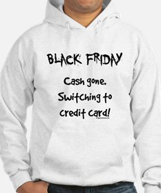 Black friday switching funny Hoodie
