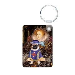 Queen-Sir Pug (17) Keychains