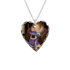 Queen-Sir Pug (17) Necklace