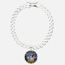 Starry Night and Pug Bracelet