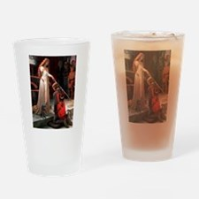 The Accolade / Black Pug Drinking Glass