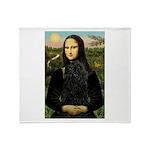 Mona Lisa /Puli Throw Blanket