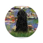 Water Lilies Ornament (Round)