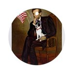 Lincoln / Rat Terreier Ornament (Round)