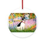 Garden / Rat Terrier Ornament (Round)