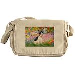 Garden / Rat Terrier Messenger Bag