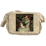 Ophelia / Rat Terrier Messenger Bag