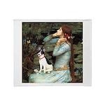 Ophelia / Rat Terrier Throw Blanket