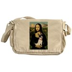 Mona / Rat Terrier Messenger Bag