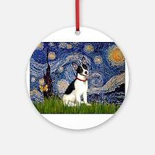 Starry / Rat Terreier Ornament (Round)