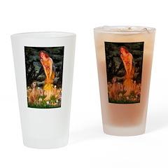 Mideve / Rho Ridgeback Drinking Glass