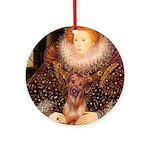 Queen / R Ridgeback Ornament (Round)